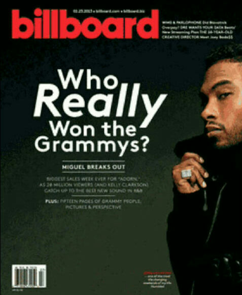 Original Cover Billboard Magazine February 23 2013